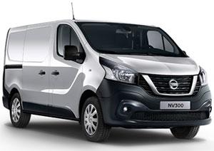 Transporter Nissan NV300, grau