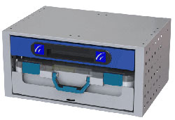 Schubladen-box für KAstenwagen Tecnolam Fahrzeugeinrichtungen