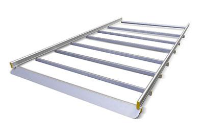 Dachträger für Transporter mit 7 Stangen von Tecnolam