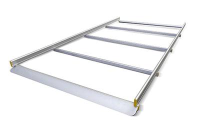 Dachträger für Transporter mit 4 Stangen