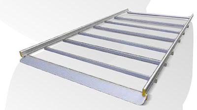 Gepäckträger Dachträger für Transporter von Tecnolam