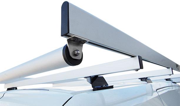 Rolle des Dachgepäckträgers für Transporter von Tecnolam