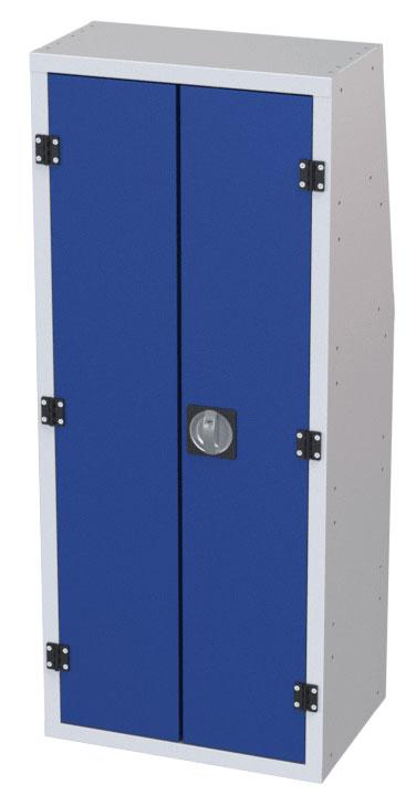 Schrank mit 2 Türen für Kastenwagen von Tecnolam Fahrzeugeinrictungen