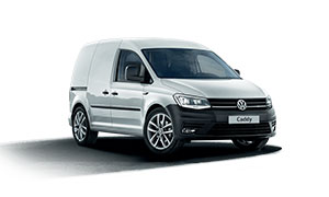 Volkswagen Caddy, grau